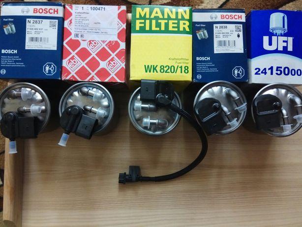 Паливні фільтра Bosch Mann Febi Ufi доMercedes-Sprinter та інші моделі