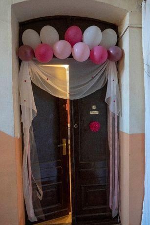 Dekoracje ślubne - na drzwi