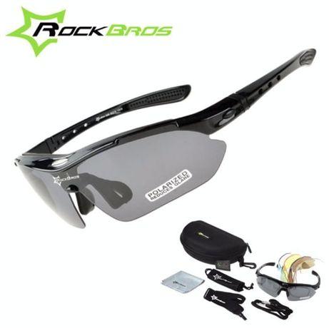 Вело очки Rockbros 5 линз