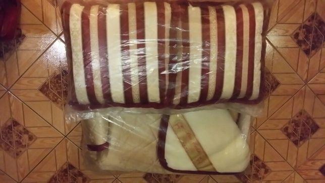 Новое кашемировое одеяло и подушки из кашемира Оригинал Германия