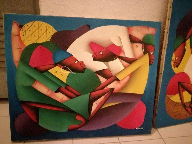 Artista Laurent Casimir Telas originais a óleo