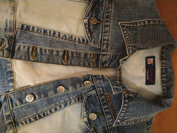 Женская жилетка джинс