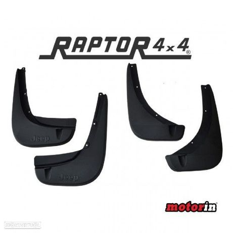 "Kit Completo Palas de Roda ""Raptor 4×4"" Jeep Renegade"