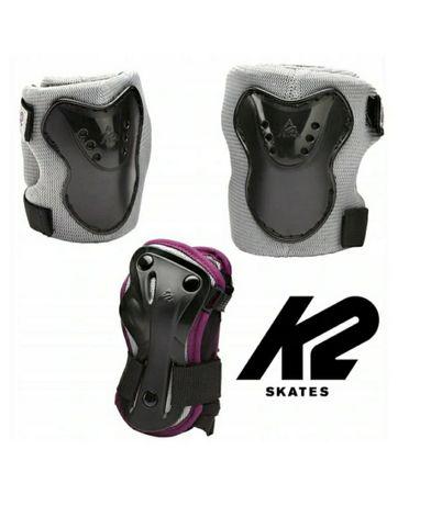 Ochraniacze K2 Charm Pro Pad Set rolki hulajnoga protektory rozmiar XS
