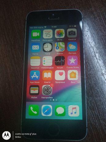 IPhone 5S 16GB из США! Icloud чист ios 12.4.8/Под р-сим.Износ акб 1 %