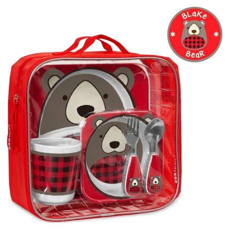 Подарочный обеденный набор Skip Hop Winter Zoo