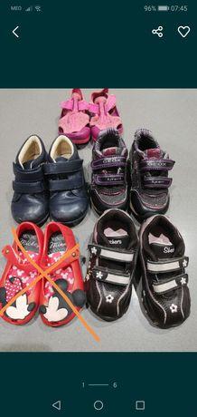 Lote sapatos menina, n°21