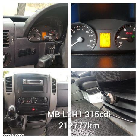 Mercedes-Benz Sprinter  Mercedes Sprinter L2H1#klima#tempomat#hak#przebieg 212777km# fv 23%