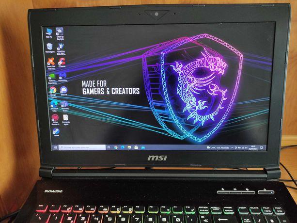 Portátil MSI Dominator Pro GTX 1070   I7-7700HQ