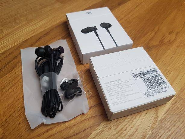 Nowe słuchawki douszne Xiaomi z mikrofonem + nakładki