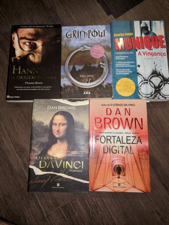 Livros lit. Internacional Dan brown Thomas Harris Hannibal a origem
