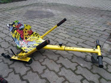 Gokart na hoverboard, nakładka na deskę elektryczną , Hoverkart