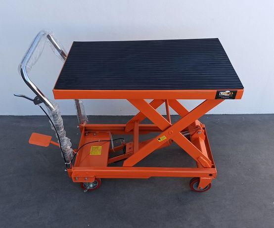 Mesa/ Bancada Elevatória Móvel - Capacidade de carga de 500kg