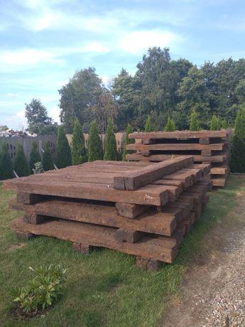 Belki ogrodowe drewniane