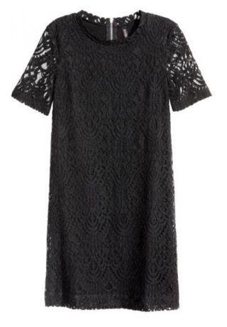 Sukienka H&M koronka rozm. S (jak nowa)