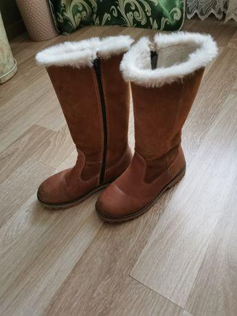 Зимове взуття шкіряне