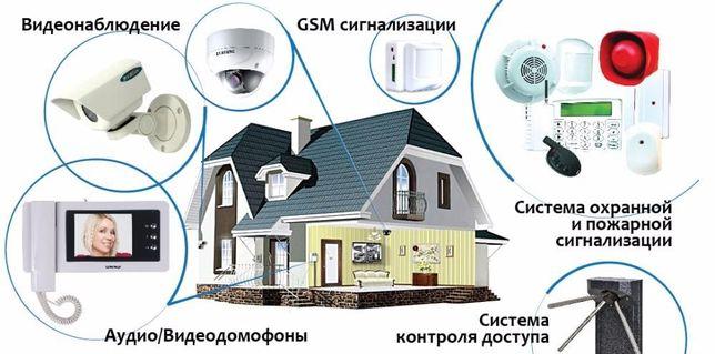 Акция с 1.05.21 - 31.05.21. Cигнализация охранная, видеонаблюдение.