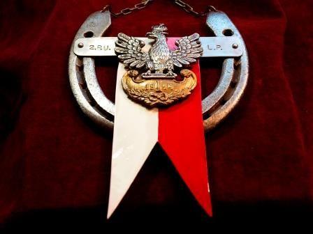 Ryngraf 2. Pułk Ułanów Legionów Polskich do szabel, unikatowy