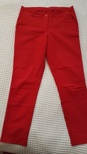 Spodnie materiałowe wiosenne 2 pary