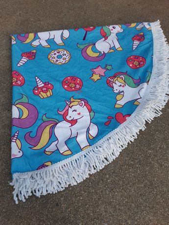 Toalha de praia redonda 1.60cm diâmetro