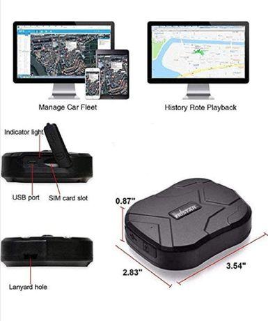 Vendo novo! Gps tracker rastreador localizador de carros objectos pess