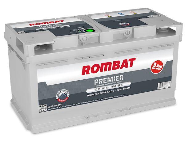 АКБ Акумулятор ROMBAT 40 55 60 70 90 100 - 235 краще Varta Bosch Mutlu