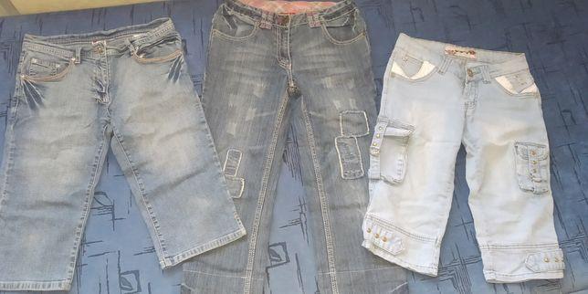 Бриджи и джинсы