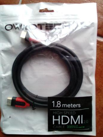 Cabo HDMI USB.2 Novo