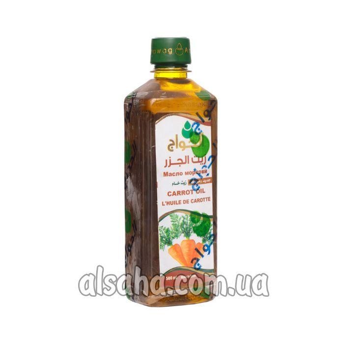 Масло морковное натуральное 500 мл. купить в Киеве, El Hawag Египет Киев - изображение 1