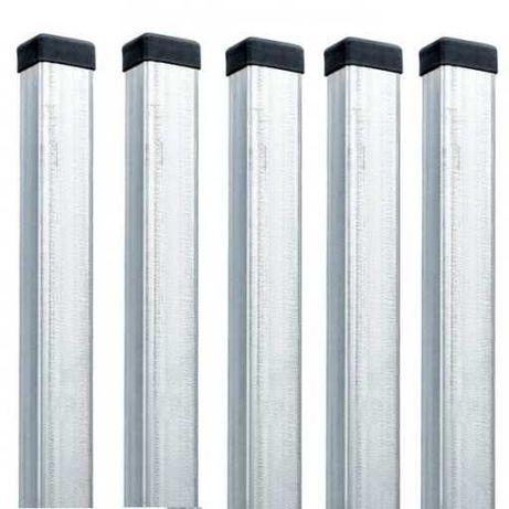 Słupek ogrodzeniowy 40x60 230cm OCYNK profile brama przęsło panele