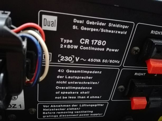 Dual CR 1780  Stan kolekcjonerski
