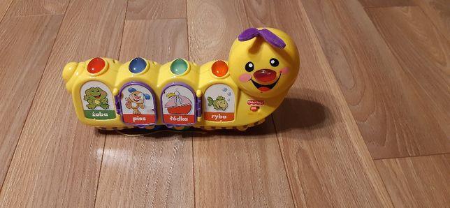 Gąsienica Fisher Price - zabawka