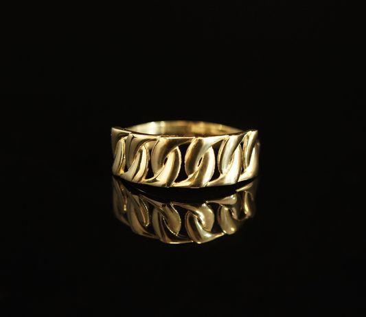 Złoto 585 - złoty pierścionek Rozmiar 24