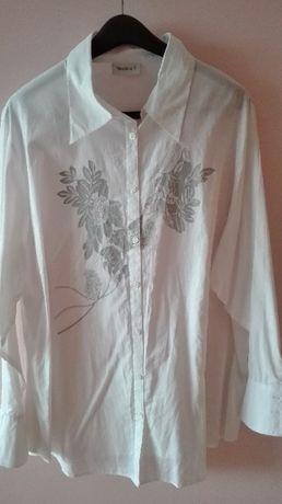 BiaŁa bluzka elegancka roz. 48-50