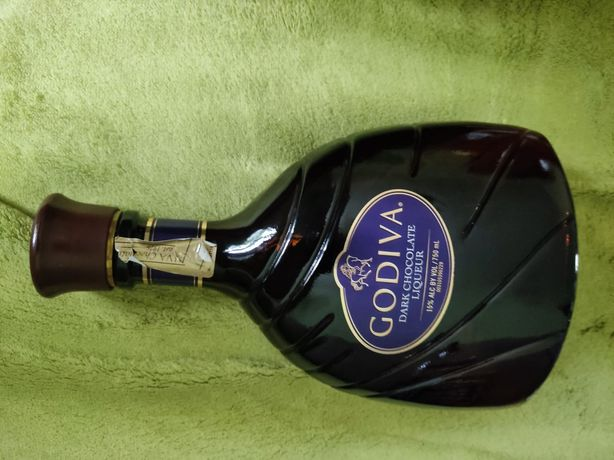 Butelka ozdobna kolekcjonerska po likierze Godiva