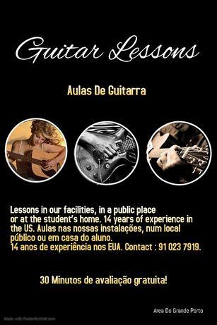 Ensino de Guitarra