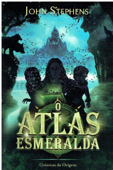 10671 O Atlas Esmeralda de John Stephens Cidade Da Maia - imagem 1