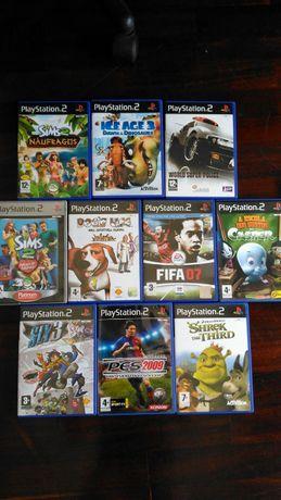 Jogos PS2 em perfeitas condições