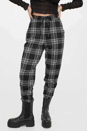 Клетчатые штаны H&M