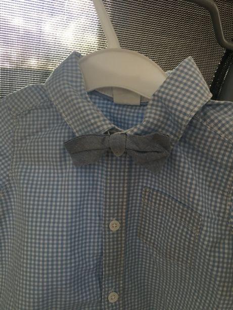 H&M Elegancka koszula z mucha 80cm