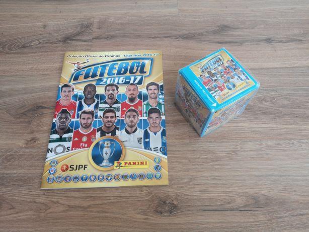 Caixa saquetas Futebol 2016-17 + Caderneta vazia