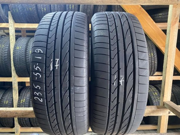 Шини літо 235/55R19 Bridgestone Dueler HP 2шт 17рік 6,5мм