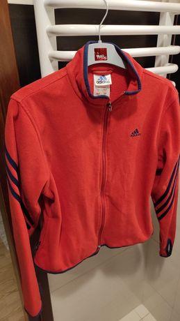 Bluza Adidas różowa polar r.S M