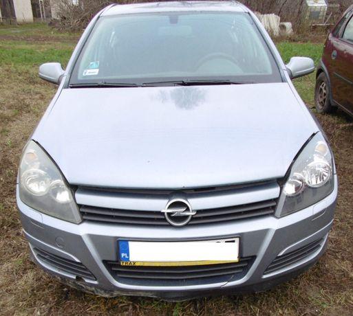 zderzak przód Opel Astra H szary Z163