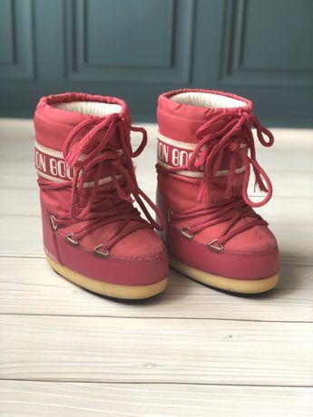 Зимние сапожки для девочки Moon Boot мунбут луноходы