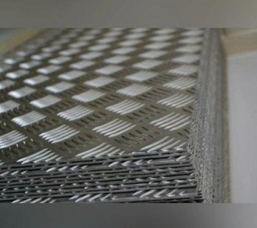 Blacha Ryflowana Aluminiowy Autolaweta Laweta Pomoc Drogowa Najazd