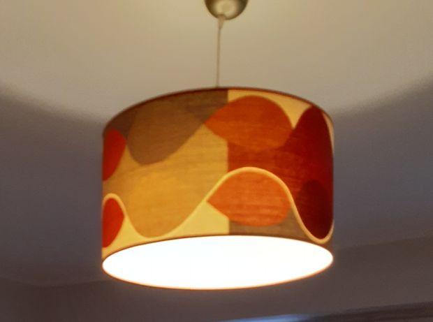 duzy zyrandol lampa wisząca boho scandi loft