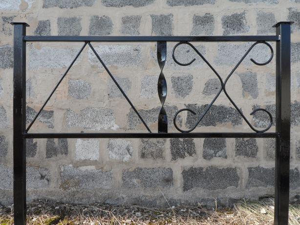 Ограда металлическая под заказ, оградка, стол, лавка, изготовление