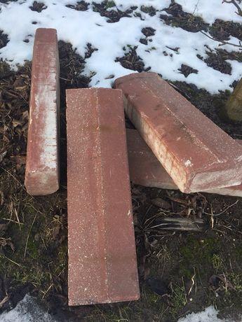 Krawężniki betonowe 100 cm, stan bardzo dobry