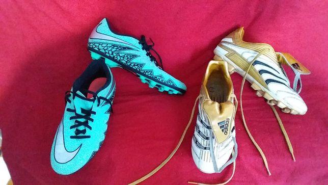 Копы, Бутсы, бамбы подростковые-Nike -38,5; adidas-38/24